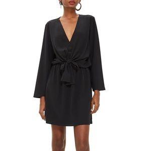 NWT Topshop Tiffany knot minidress